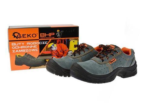 0bb9ec523bc1 GEKO Pracovná obuv BHP model č.3 semišové veľkosť 40.