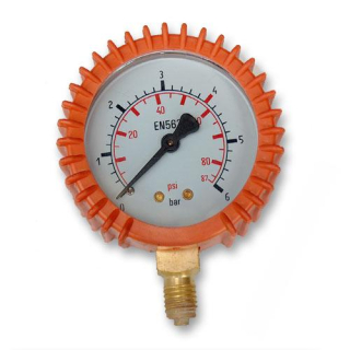 Manometer Propán/bután 6 Bar -  M12x1.5  63 mm