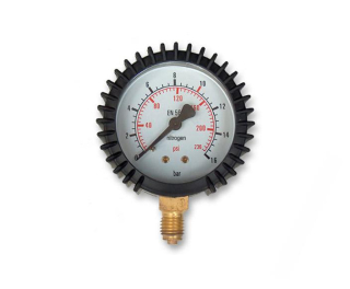 "Manometer Dusík 16 Bar - 1/4"" 63 mm"