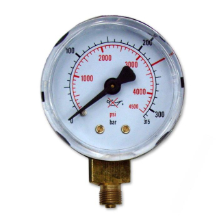 Manometer pre reduktor mini 315 Bar 50 mm