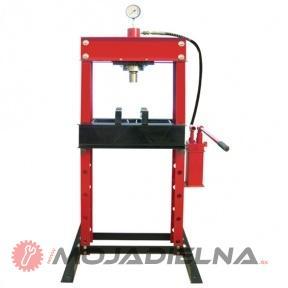 Hydraulický lis s tlakomerom 30T - zdvojená pumpa